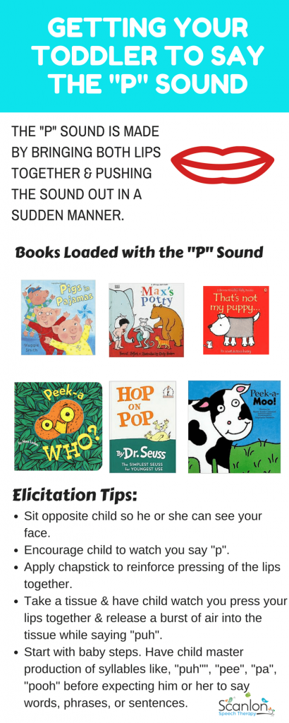 Getting Toddler to Say P Sound REVISED