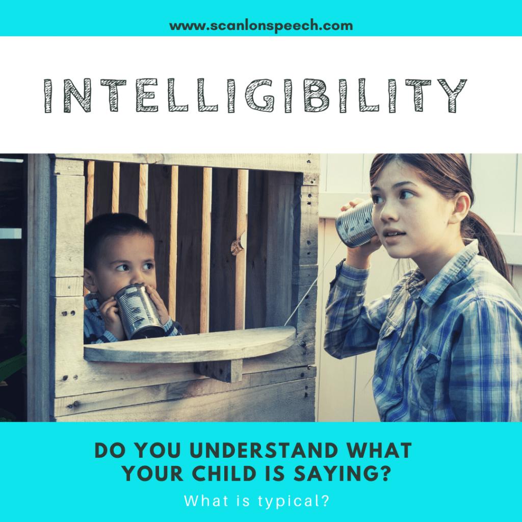 intelligibility