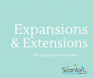 Expansions and Extensions for Language Development