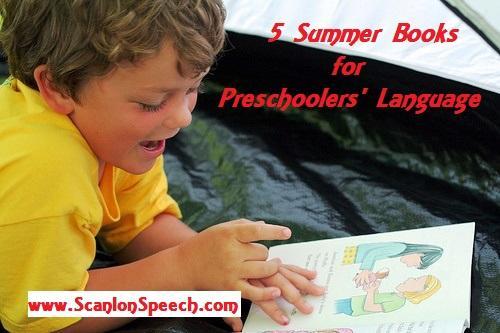 Preschoole language and books