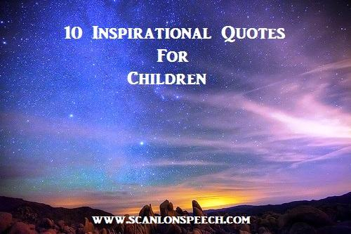 Inspirational Quotes for Children