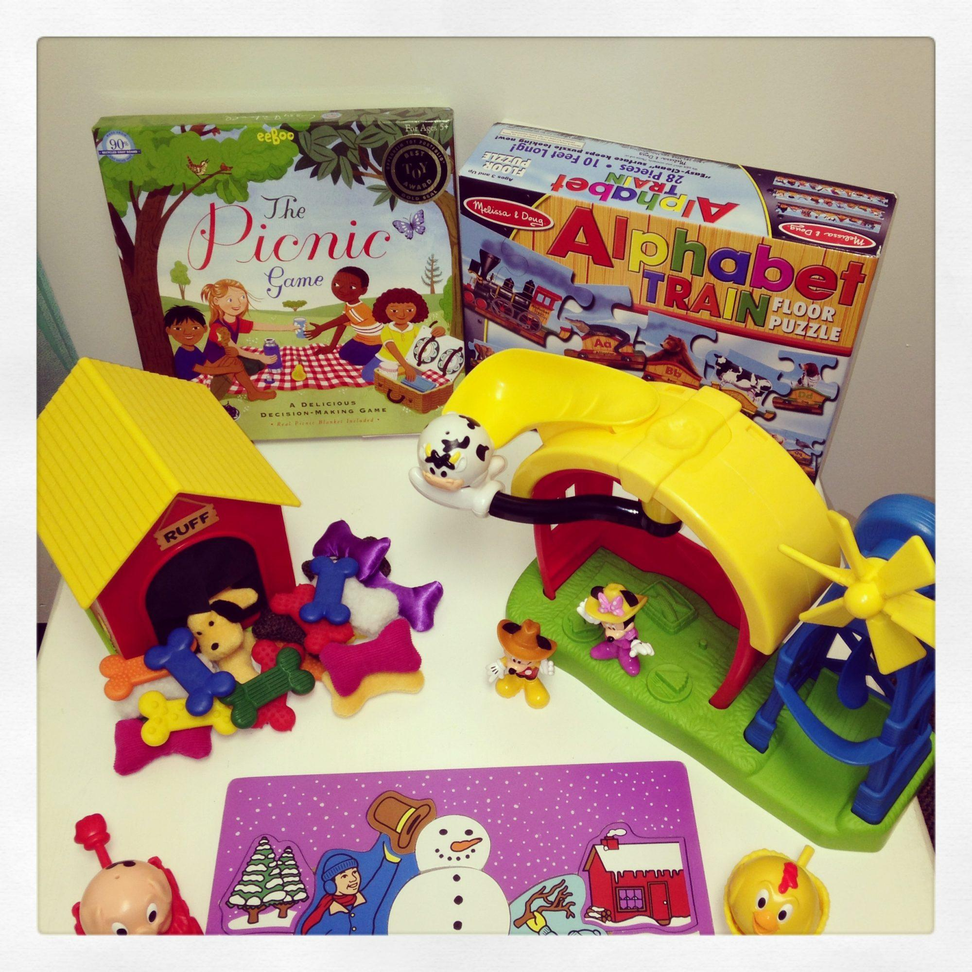 Preschool Toys to Improve Cognition Play and Language