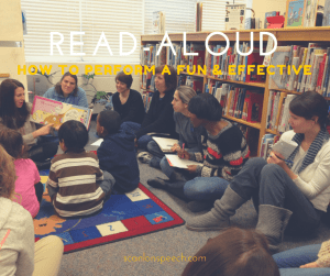 How to perform a fun and effective read-aloud