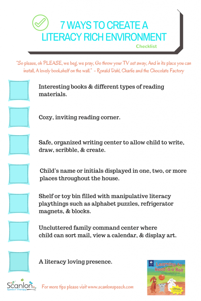 7 Ways to Create a Literacy Rich Environment picture R