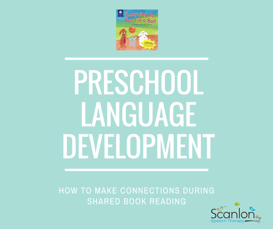 Making Connections: Oral Language & Reading Comprehension