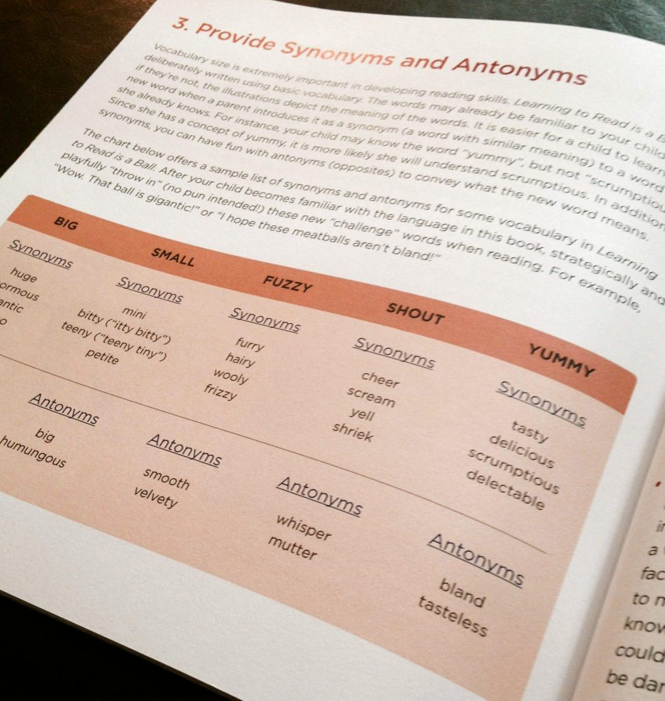 synonyms and antonyms for vocabulary building