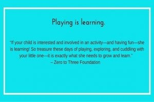 Playing is learning