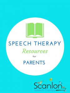 Speech Therapy Resources for Parents