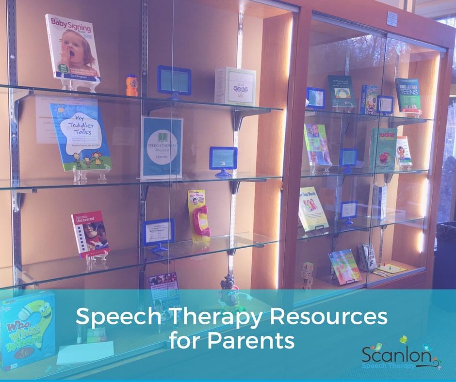 Speech Therapy Resources for Parents photo