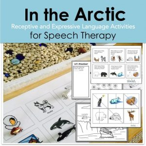 In the arctic, speech therapy, arctic animals
