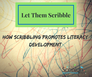 Scribbling, Literacy