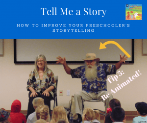 Preschool Storytelling, oral narrative development