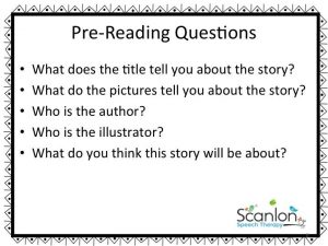 Pre-Reading Questions, The Napping House