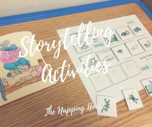 The Napping House, Storytelling Activities