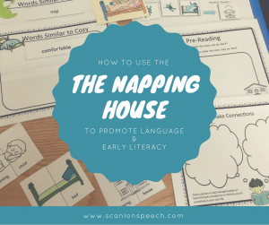 The Napping House, Language, Early Literacy