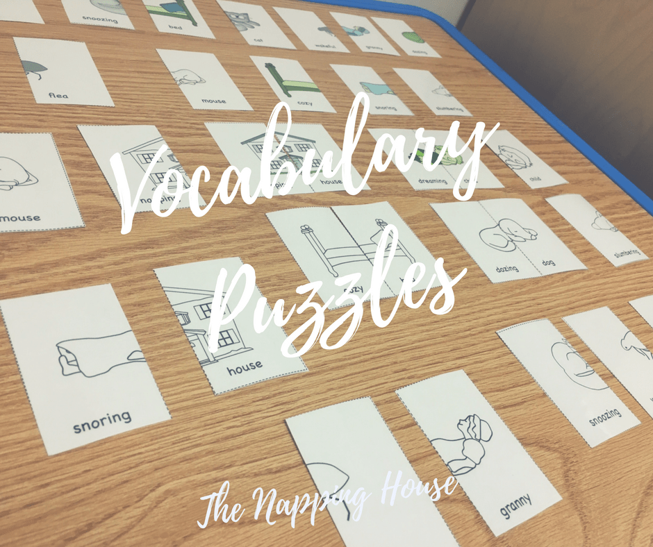 The Napping House, Vocabulary Puzzles