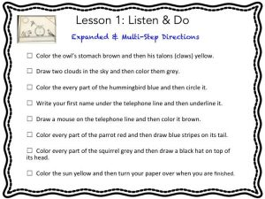 Listening Activities | Scanlon Speech Therapy