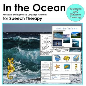 In the ocean product to develop receptive and expressive language skills