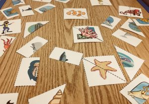 puzzle pieces, speech therapy