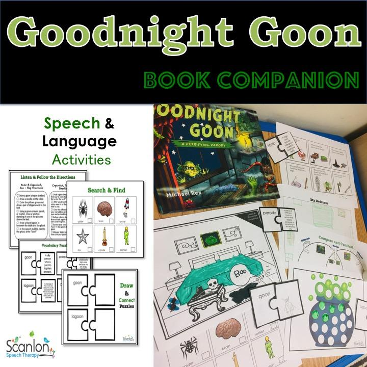 Goodnight Goon book companion