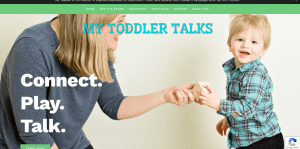 My Toddler Talks New Website