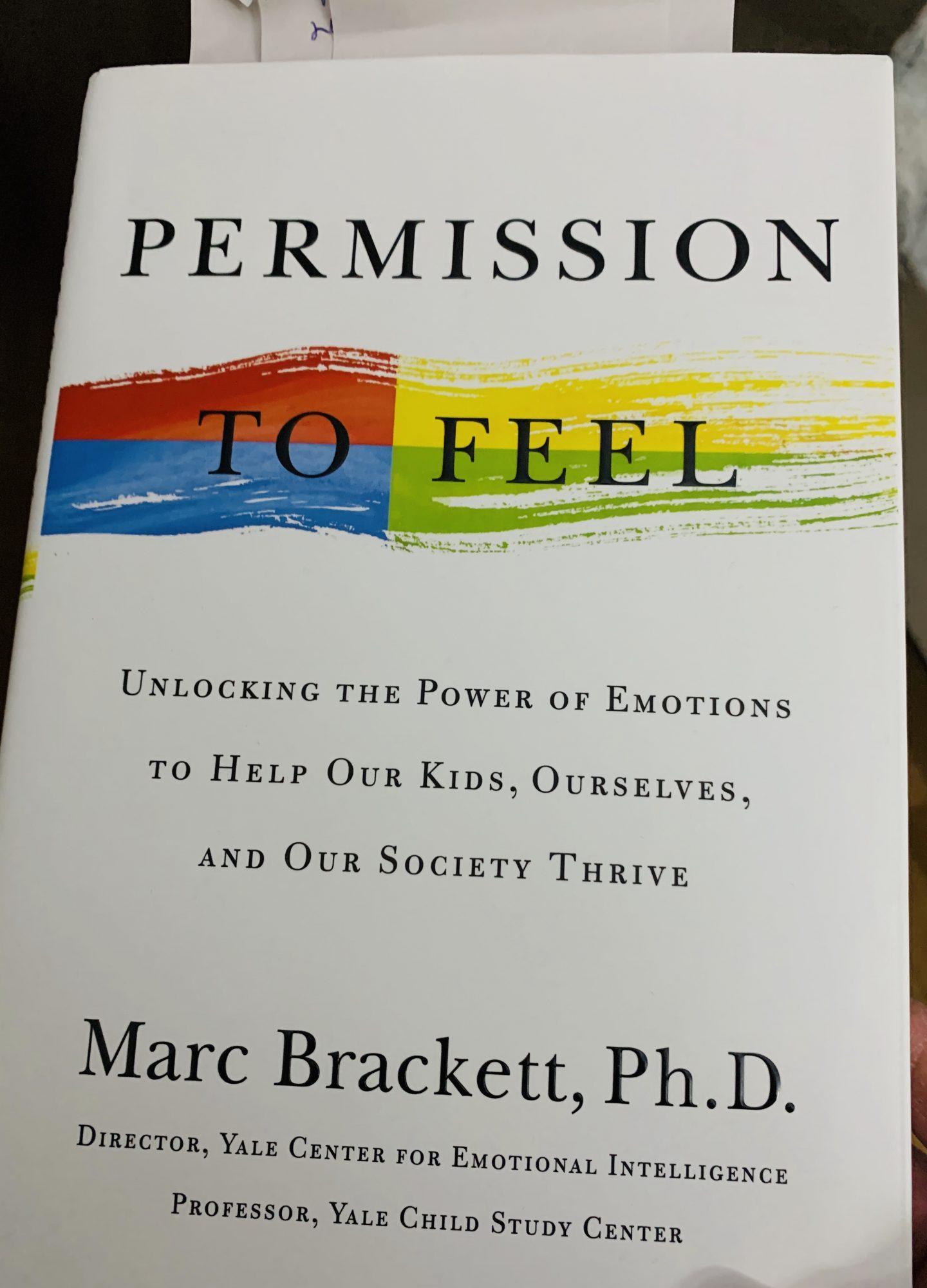 Permission to Feel, Marc Brackett