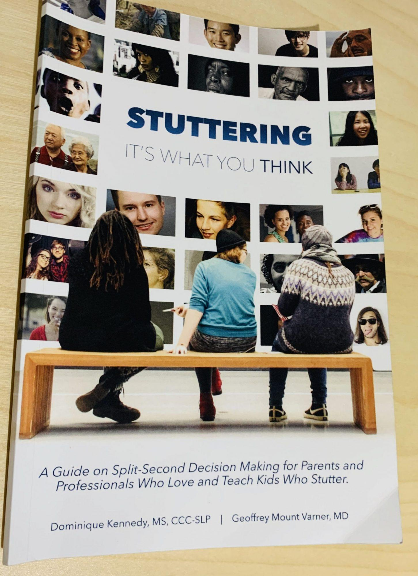 Stuttering It's What You Think Book Review By speech language pathologist, Kimberly Scanlon