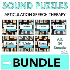 Sound Puzzles for Fun Articulation Practice