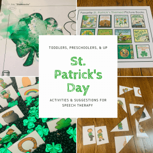 St. Patrick's Day Activities for Speech Therapy