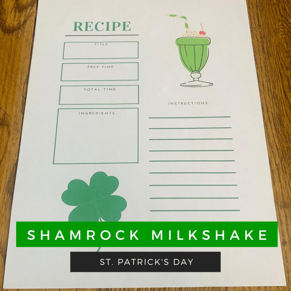 Shamrock Milkshake Recipe