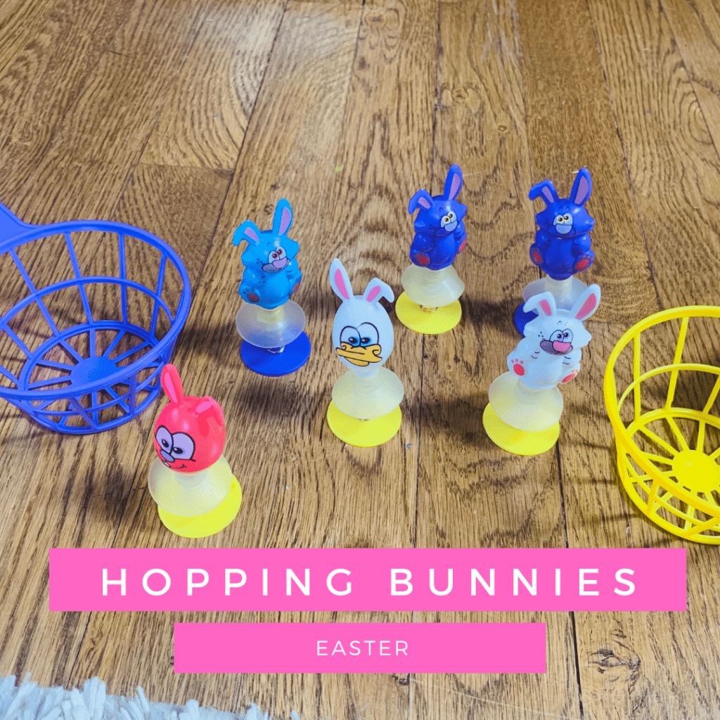 Hopping Bunnies a simple game for your speech therapy sessions - perfect for Easter