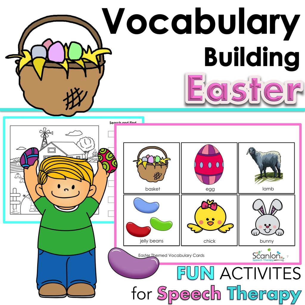Easter Vocabulary Building Activities