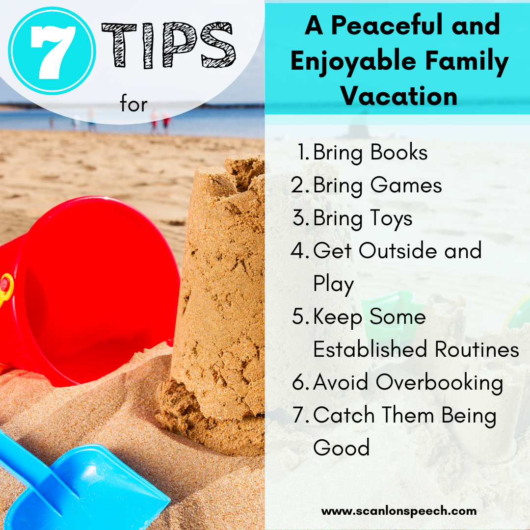 7 tips for a peaceful and enjoyable family vacation